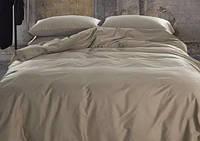 Однотонное постельное белье сатин люкс  Prestij Textile 08757