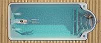 Чаша под композитный бассейн GARDA 800 (стоимость чаши указана для базовой комплектации бассейна)