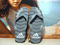 Мужские вьетнамки Adidas (адидас) серые 41 р.