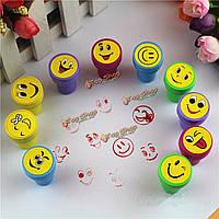 10шт смайликов улыбка глупое лицо штампов набор канцелярских товаров для детей  подарок партии