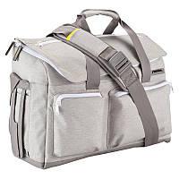 Сумка, рюкзак для ноутбука Newfeel BACKENGER UP 32L светло серая