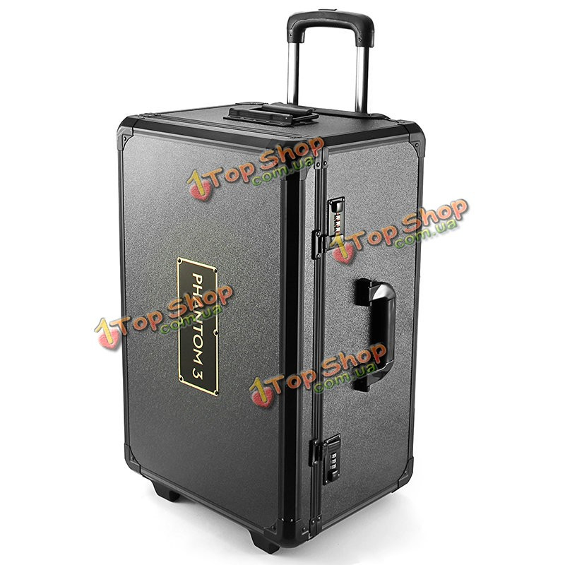 Realacc алюминиевый троллейбус случае тяга рука коробка кейс для DJI Phantom 3 Professional продвинутый