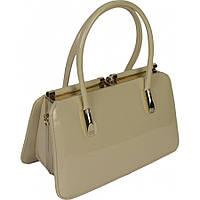 Женская сумка из лаковой кожи