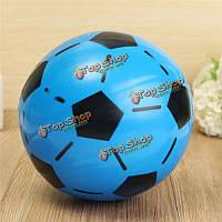 Футбол 15см случайный цвет пвх надувные футбол крытый открытый игрушка для малышей детей игры дар