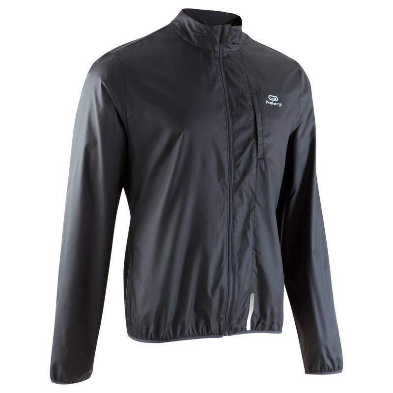Куртка мужская для бега Kalenji EKIDEN черная - priyatili.com в Львове