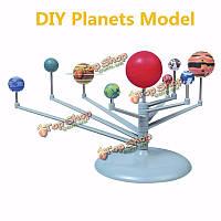 Солнечный свет пластик Солнечной системы небесные тела планеты модели развивающие игрушки