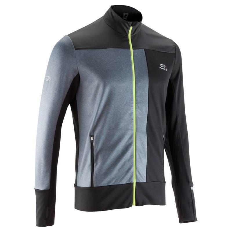 Куртка мужская для бега Kalenji ELIOPLAY черная - priyatili.com в Львове