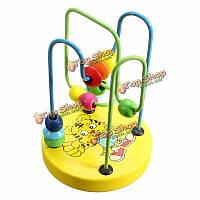 Деревянные мини-орбита из бисера лабиринт детские игрушки разведки