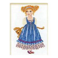 Набор для вышивания крестом «Кукла с тигром» (960), Риолис