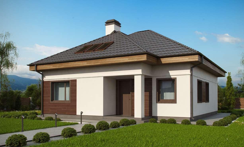 Строительство коттеджей и малоэтажных домов. Проект Дома № 2,63