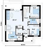 Строительство коттеджей и малоэтажных домов. Проект Дома № 2,63, фото 6