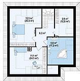 Строительство коттеджей и малоэтажных домов. Проект Дома № 2,63, фото 7