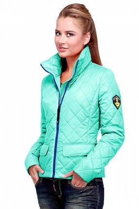Стильная женская осенняя куртка арт. Лаура, фото 2