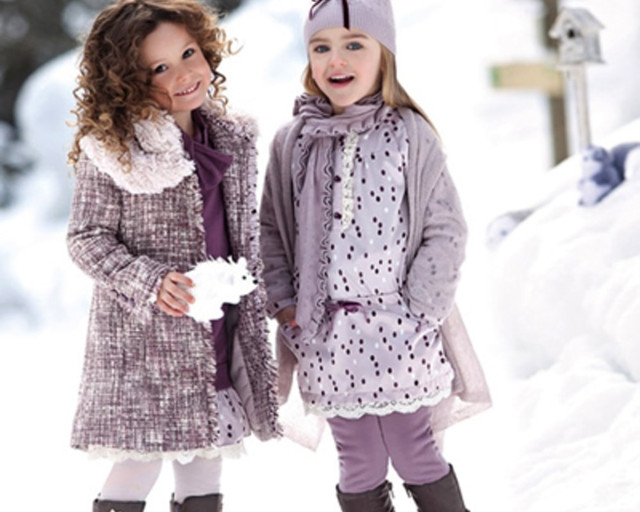 Зимняя одежда для девочек оптом