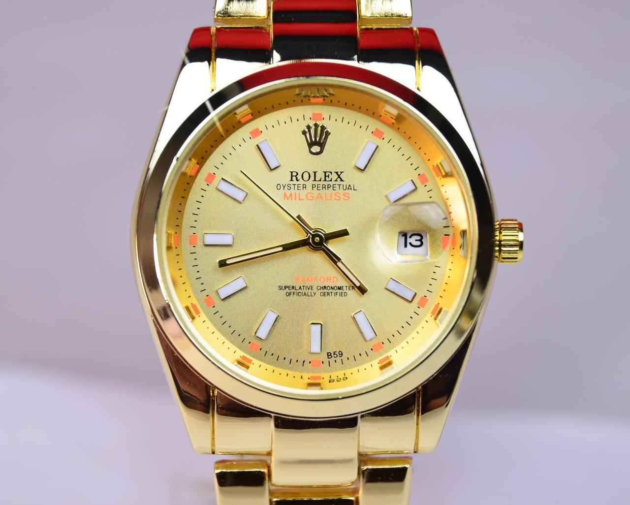 Наручные часы Rolex Oyster Perpetual Milgauss Gold