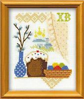 Набор для вышивания Риолис 0962 Кулич с вербой на окошке