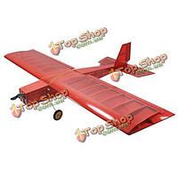 Большой палкой 1060mm размах крыльев лазерной резки бальзы комплект с шасси и колесами