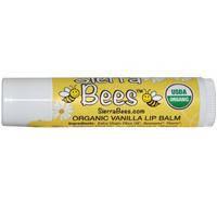 Натуральный бальзам для губ Sierra Bees,ваниль
