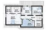 Строительство коттеджей и малоэтажных домов. Проект Дома № 2,65, фото 6
