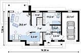 Строительство коттеджей и малоэтажных домов. Проект Дома № 2,66, фото 6