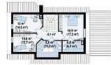 Строительство коттеджей и малоэтажных домов. Проект Дома № 2,66, фото 7