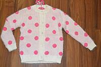 Вязанный  кардиган для девочек.Размеры 6-16 Фирма S&D.Венгрия