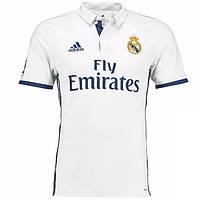 Футбольная форма Реал Мадрид, новый сезон 2016-2017 (домашняя)