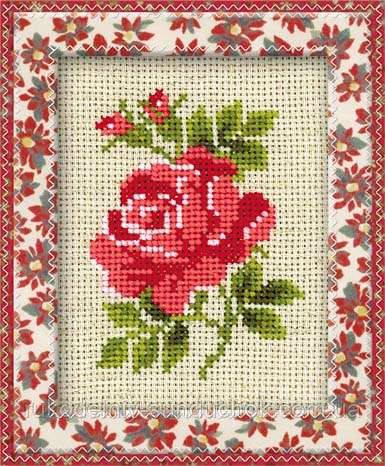 Набор для вышивания крестом «Розочка» (983), Риолис