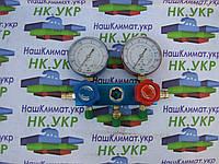 Коллектор 2-х вент. с манометром CT 236 BG (R-410) c 3-мя шлангами, фото 1