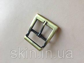 Пряжка сумочная, ширина - 25 мм, цвет - антик, артикул СК 5046, фото 2