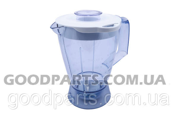 Пластиковая чаша блендера 1000ml для кух. комбайна Philips 420306550480