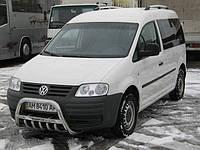 Volkswagen Caddy 2010-2015 гг. Кенгурятник WT003 (нерж) 60 мм