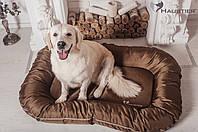 Лежак-понтон для собак средних и крупных пород Haustier Gold Sand 120x80