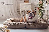 Лежак-понтон для собак средних и крупных пород Haustier Gold Sand 100x70