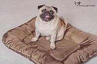 Лежак-понтон для собак средних и крупных пород Haustier Gold Sand 80x60
