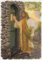 Матренин Посад 1649 Иисус, канва с рисунком