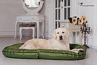 Лежак-понтон для собак средних и крупных пород Haustier Green Lawn 120x80