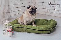 Лежак-понтон для собак средних и крупных пород Haustier Green Lawn 80x60