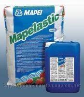 Еластична двокомпонентна гідроізоляція , Mapelastic А+В 32 кг, Mapei