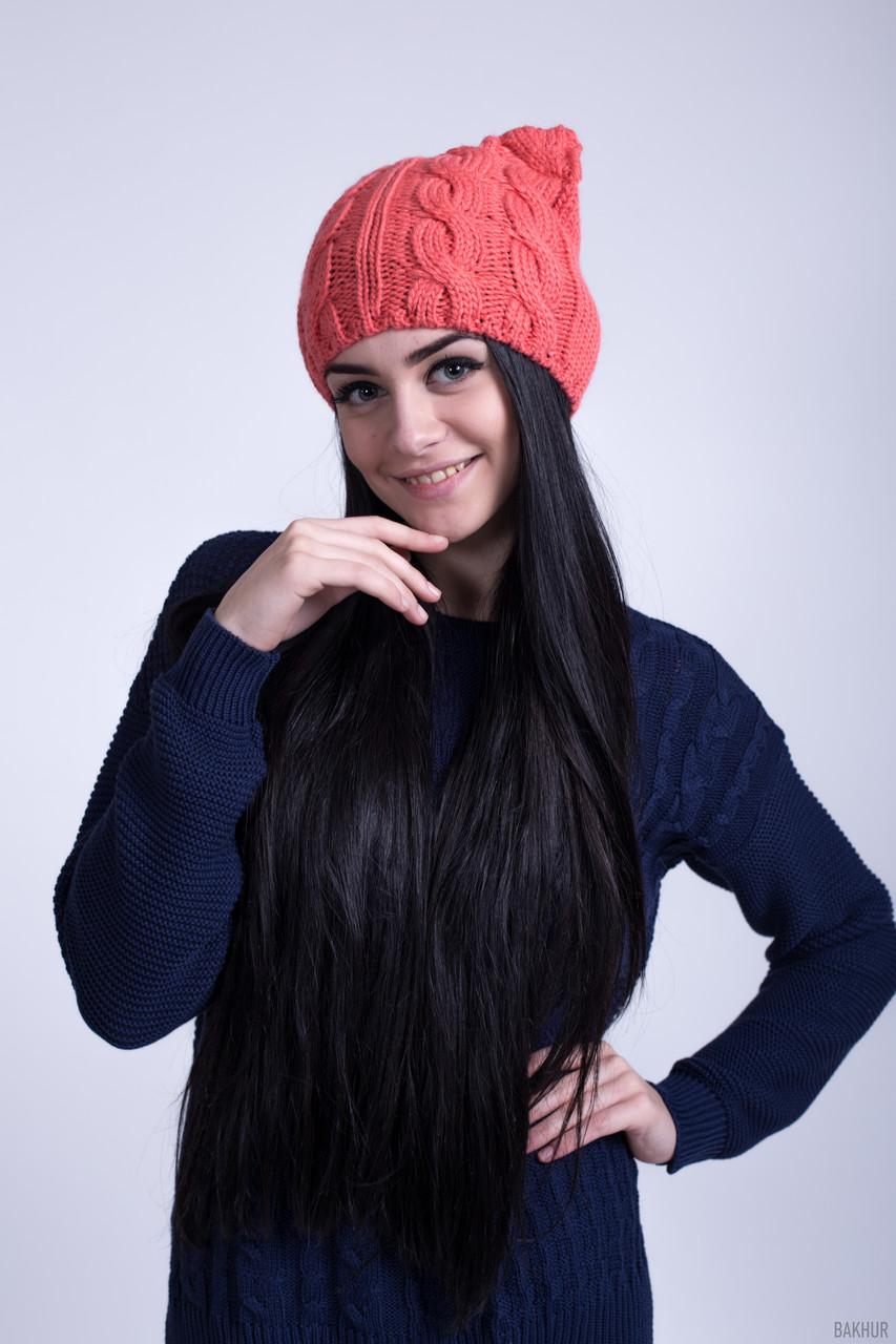 вязаная шапка с ушами продажа цена в хмельницком шапки от