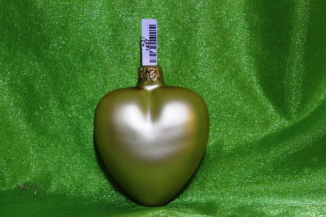 Новогодняя игрушка Сердце 1123