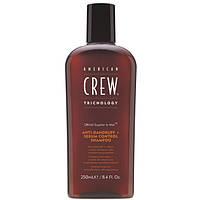 Шампунь против перхоти для жирной кожи головы American Crew Anti Dandruff+Sebum Control Shampoo 250 ml