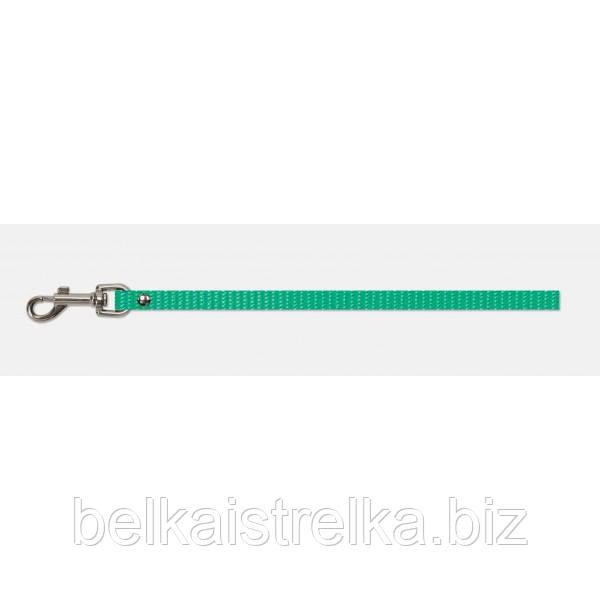 Поводок Кристель нейлоновый 15мм/1,5м зеленый КР2031-02