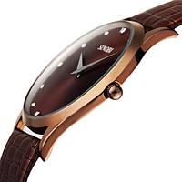 ХИТ! SINOBI Мужские часы  Япония ТОНКИЕ ГАРАНТИЯ!