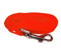 Поводок Кристель нейлоновый 20мм/2м красный КР2061-03