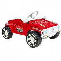Машинка для катання ПЕДАЛЬНА червона ОРІОН 792