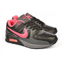 Кроссовки женские Nike Air Max 90 Pink&Black черные с розовым, Черный, 41