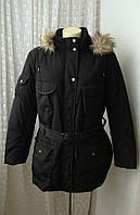 Зимняя куртка капюшон батал Canda р.56-58 7127