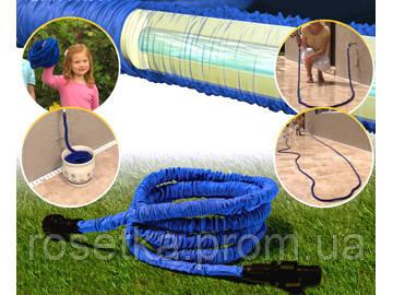 Универсальный садовой шланг для полива X-hose (ИксХоз)