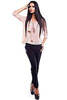 Блуза креп-шифоновая Аврора, фото 1